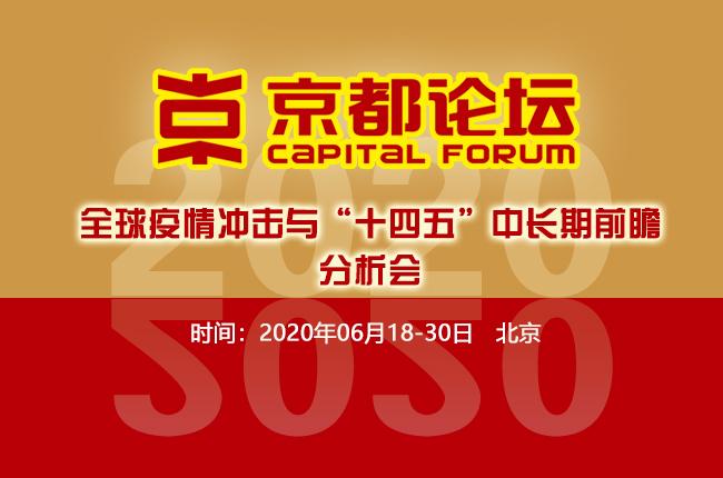 2020京都论坛十四五时期经济发展趋势及政策研判